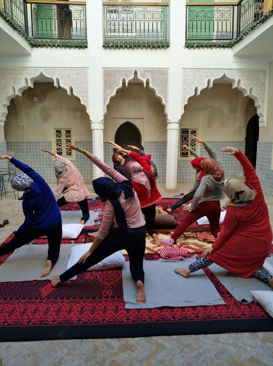 Yoga as a tool
