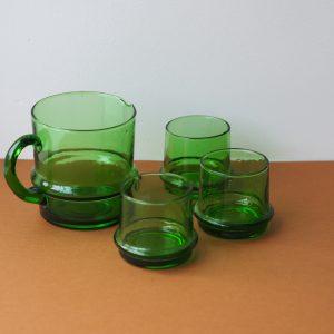 Glas groen M