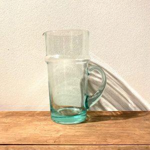 Waterkaraf transparant met handvat, L