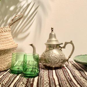 Marokkaanse theepot, L
