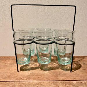 6 glazen transparant
