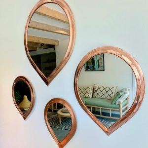Spiegel in druppelvorm, S