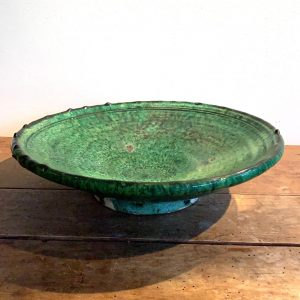 Tamegroute bord groen, L